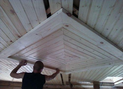 Из чего сделать потолок на даче своими руками 89