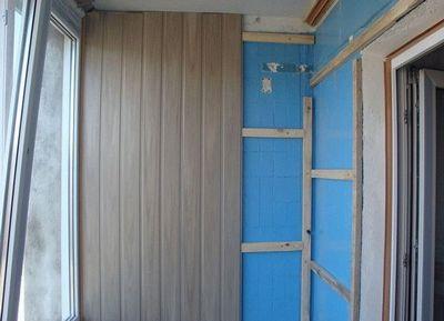 Монтаж каркаса стеновых панелей из пвх 158
