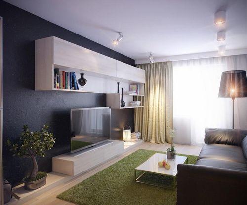 дизайн маленькой гостиной интерьер икеа в квартире фото и идеи для