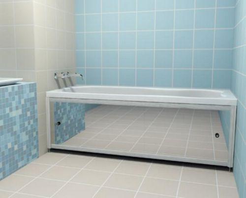 Под ванну раздвижная своими руками 826