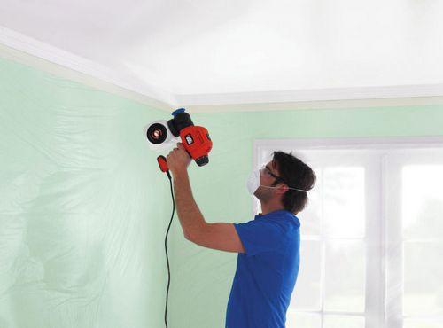 Сделать краскопульт для покраски потолка вододисперсионной краской мастика автонол цинк-ультра