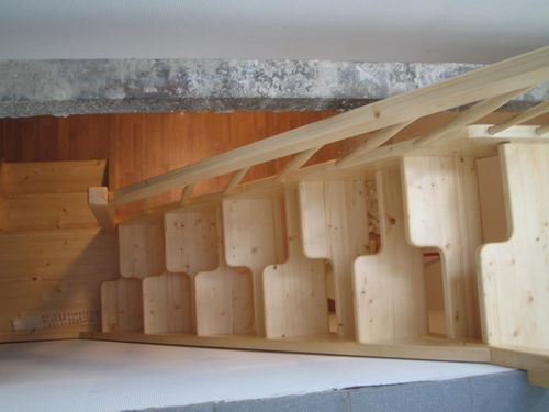 Лестница утиный шаг своими руками фото 931
