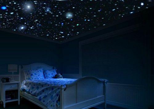 Звездное небо натяжной потолок своими руками фото 864