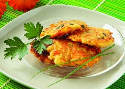 оладьи из кабачков с морковью рецепт