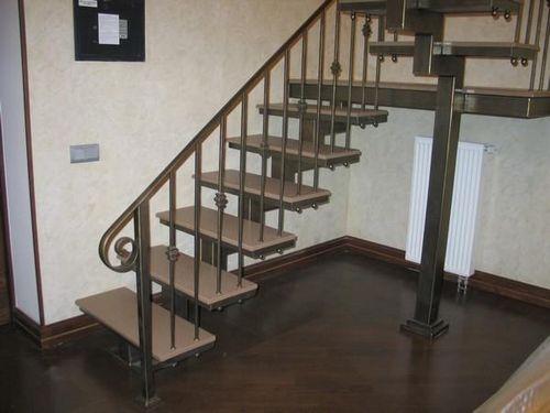 Как сделать перила для лестницы своими руками из металла фото 677