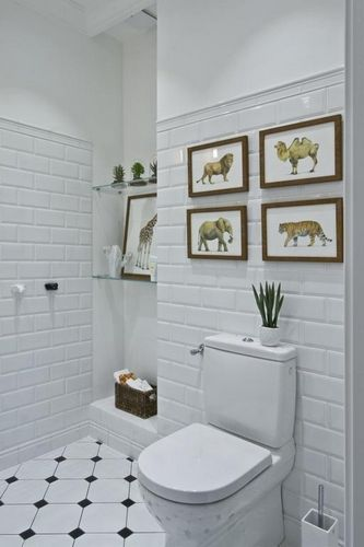 Плитка кабанчик: размеры для ванной, белая керамическая, фото, типы и укладка кафеля Керамин в интерьере