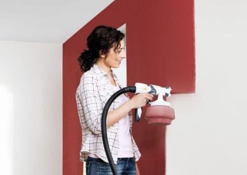 Краскопульт для декоративной покраски стен гидроизоляция фундаментов рисугок