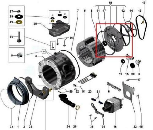 Самсунг стиральной машины ремонт своими руками подшипник фото 452