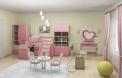 оформление детской спальни для девочки выбор мебели обоев декора